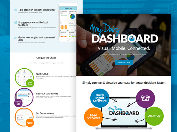 My Dairy Dashboard